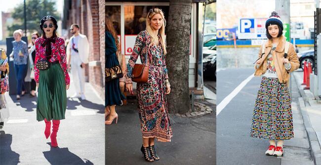 穿搭也玩穿越,70年代古穿上街最时髦,五大风格你爱哪一个?